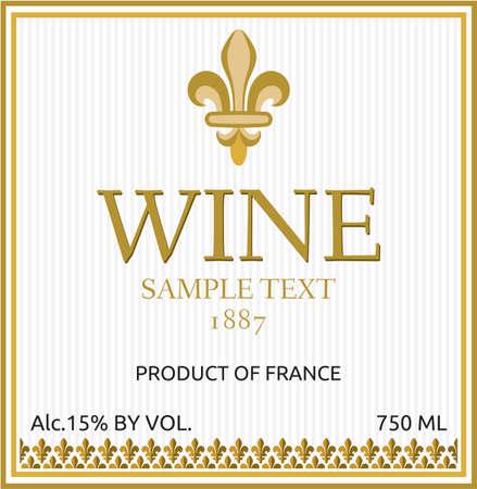 clip art wine: wine label design
