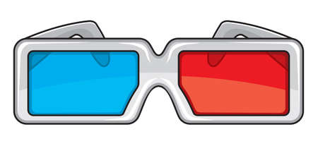3D glasses Stock Vector - 15841965