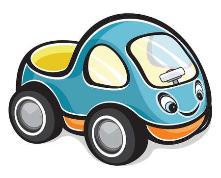 grand kid: cute race car Illustration