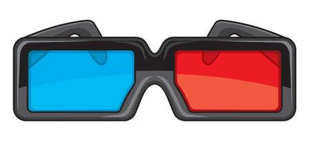 3D glasses Stock Vector - 15970970