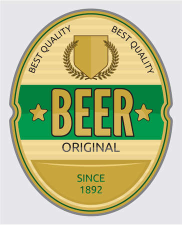 irish beer label: Beer label design