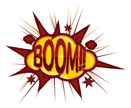 Comic book explosion Stock Vector - 15971467