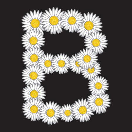 yellow daisy: daisy letter