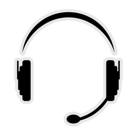 call center office: call center headset