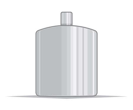whiskey bottle: Stainless hip flask