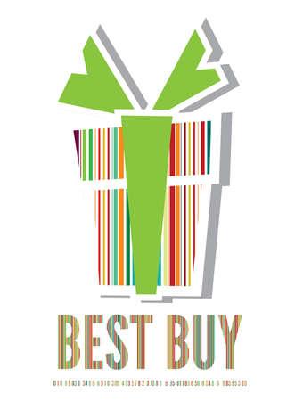Best buy label Stock Vector - 18009878