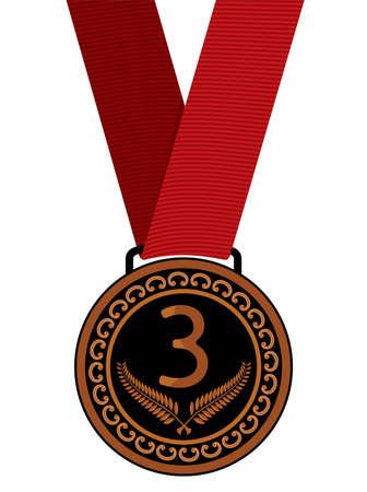 illustration of bronze medal Stock Vector - 18010044