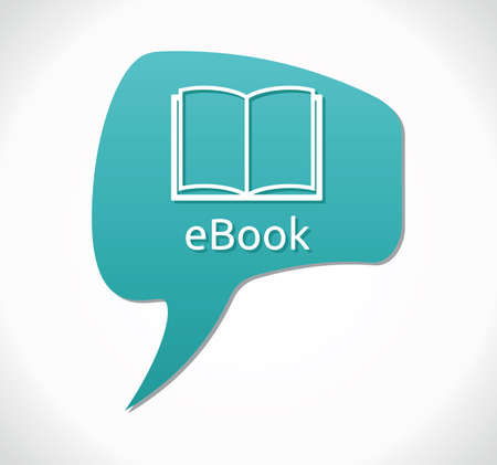 e book icon Stock Vector - 18009795