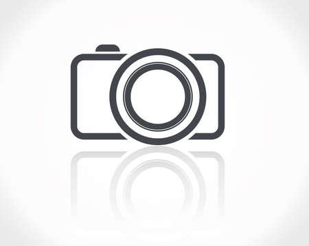 objetivo: Icono de cámara