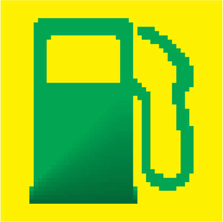 Eco gas station sign Stock Vector - 18009808
