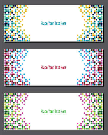 pix: Web banner set