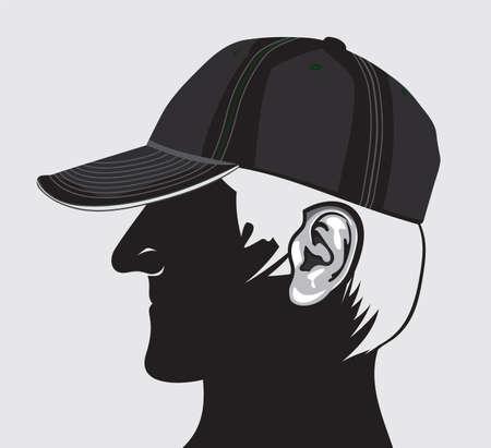 Man with cap Stock Vector - 18099125