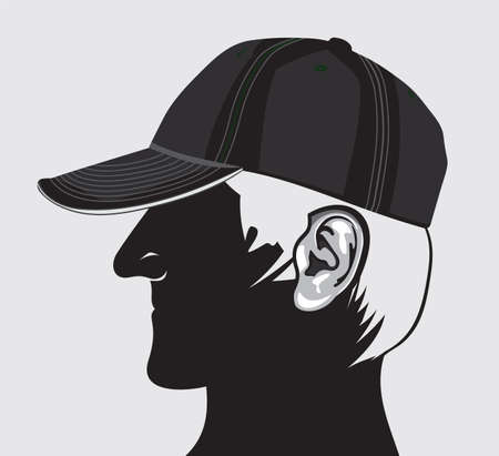 Man with cap Stock Vector - 18099125