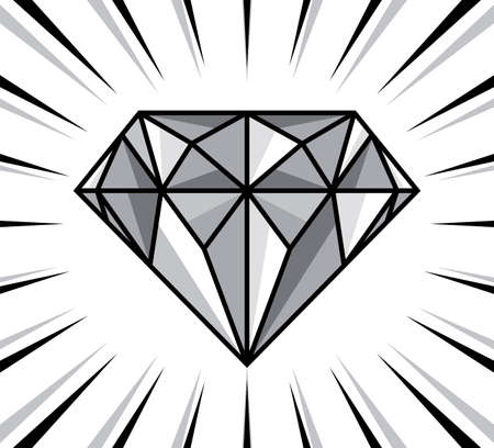 diamond shape: diamond shine