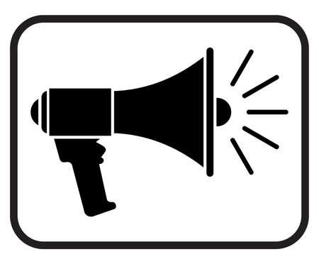 megaphone icon - loudspeaker icon