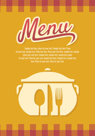 Restaurant menu Stock Vector - 18094804