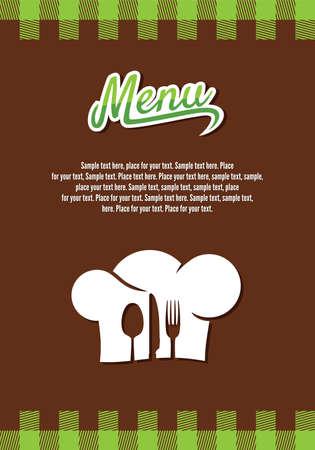 menu restaurant: conception menu du restaurant