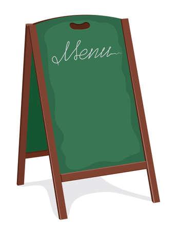blackboard for restaurant Stock Vector - 18094816