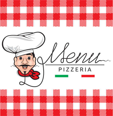Italian restaurant menu Vector