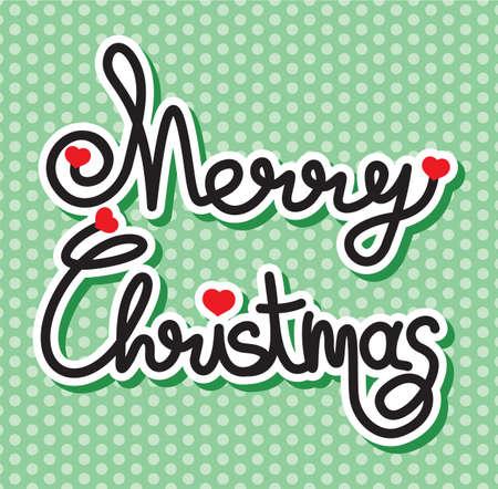 Merry Christmas Stock Vector - 18094797