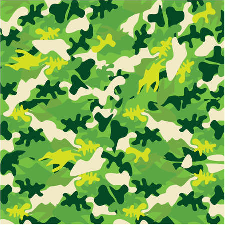 to conceal: Camouflage pattern Illustration