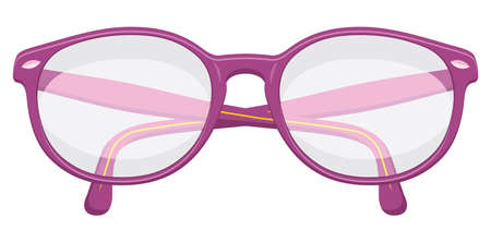 bifocals: Retro glasses Illustration