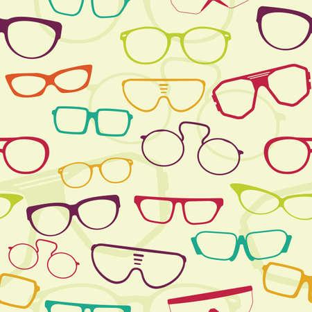 eye wear: Gafas patr�n Seamless