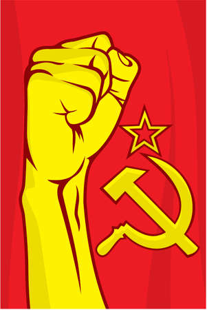 communism: USSR fist