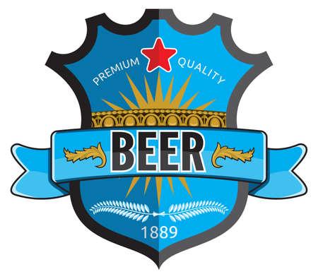 irish pub: Beer label design