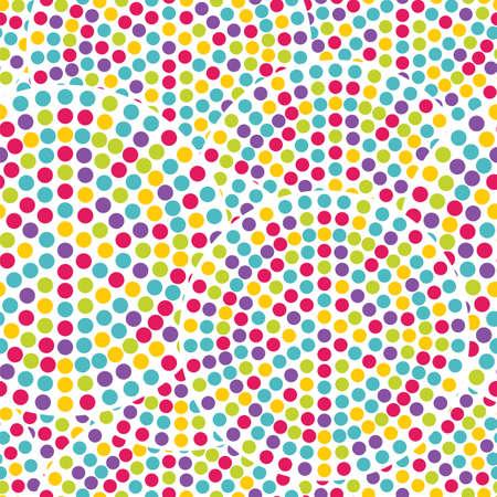 polka dots: Seamless dot pattern