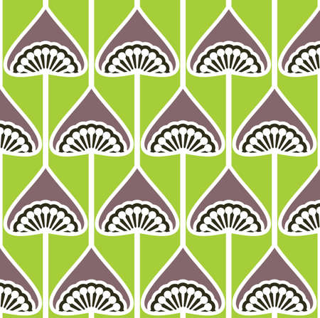 seamless retro pattern Stock Vector - 18067021