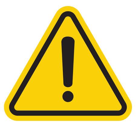 느낌표 기호 위험 경고주의 기호