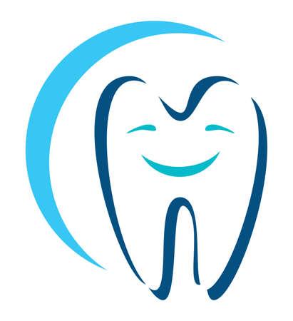 holten: tandheelkundige icoon Stock Illustratie