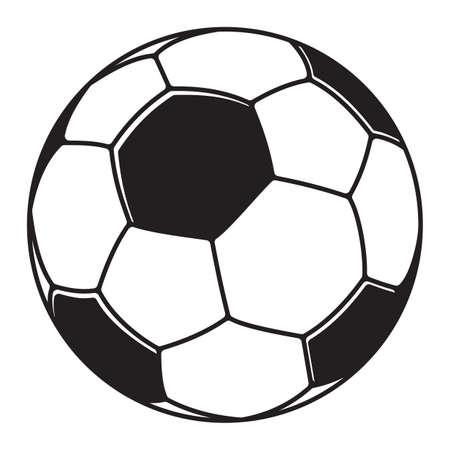 evening ball: Soccer ball, football ball