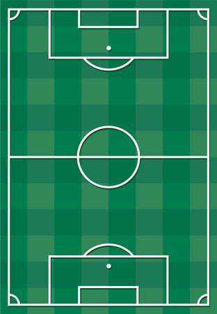 touchline: Soccer or football field