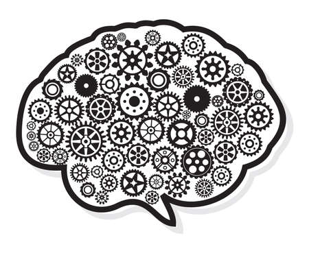 thinking machine: la cabeza y el cerebro en marcha progreso