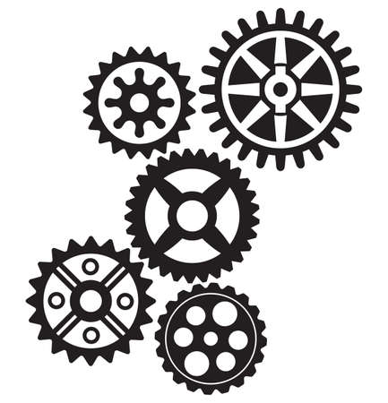 toothed: growing gears Illustration