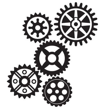 revolve: growing gears Illustration