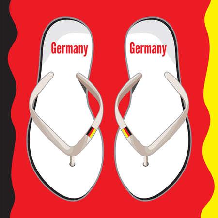 flop: Germany flip flop sandals