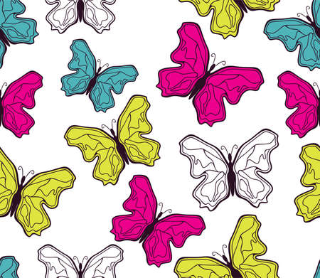 butterfly pattern Stock Vector - 18158998