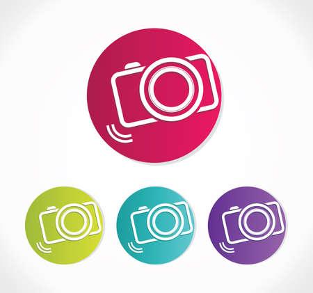 camera flash: Camera Icon