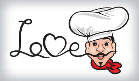 Comic Chef Vector