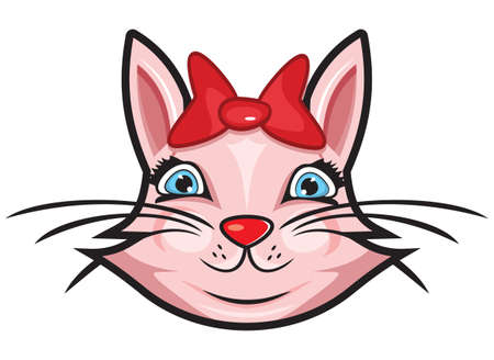 Cute cat Stock Vector - 18245544
