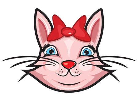 Cute cat Stock Vector - 18245544