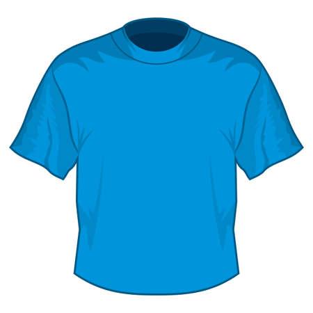 Blank T-shirt Stock Vector - 18349267