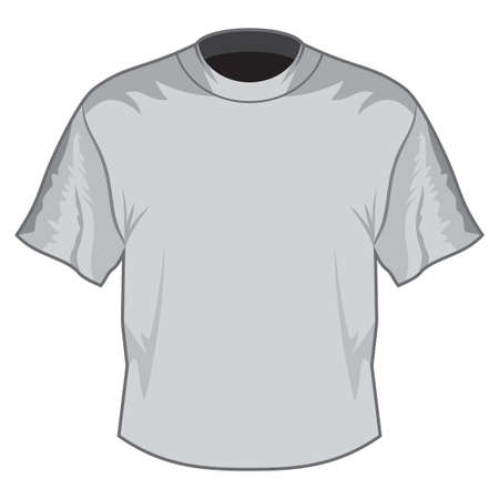 Blank T-shirt Stock Vector - 18332849