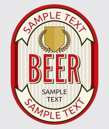 irish pub label design: Beer label design