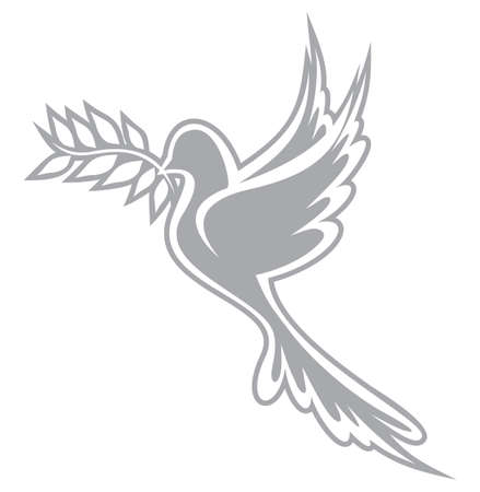 olive branch: Dove of Peace