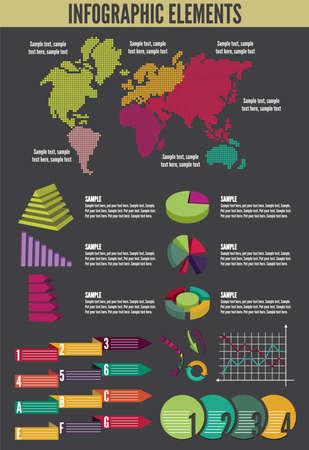 infographic Stock Vector - 18245684
