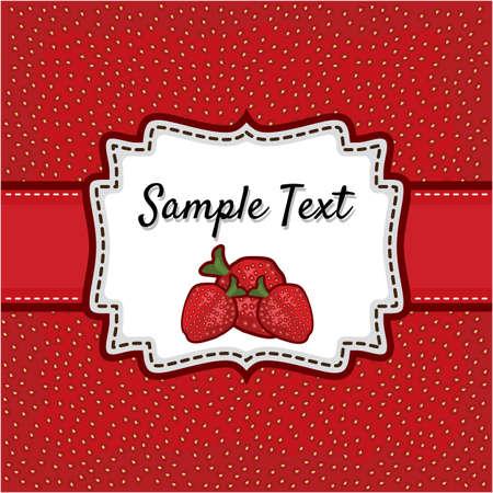 Retro greeting card template design Stock Vector - 18245679